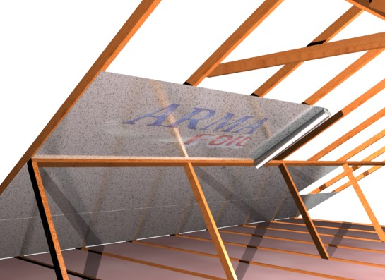 How To Install Radiant Barrier In An Attic